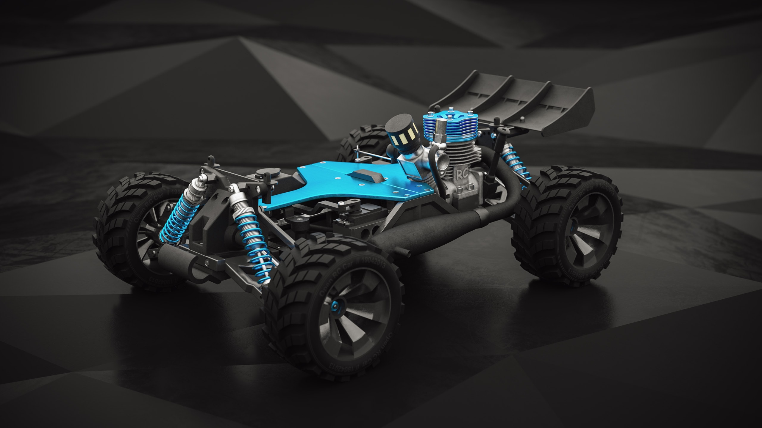 open rc car
