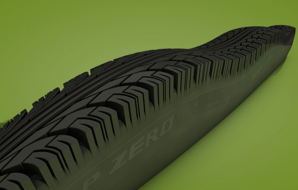 Tire Track digital-art 3d-CGI 5