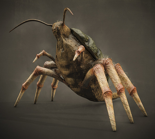 3d sculpting and texturing bug 2