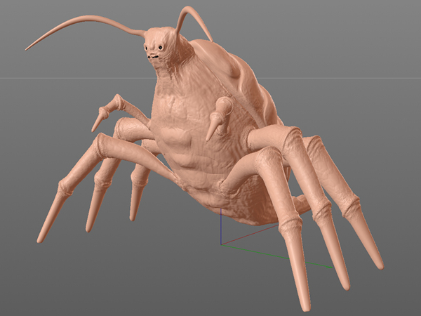 3d sculpting and texturing bug 4