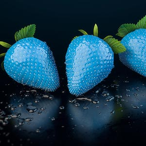 free strawberry erdbeere 3d model c4d obj