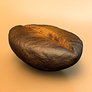 free coffee_bean_free_3d_model